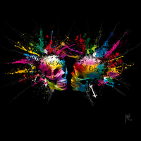 70cm x 70cm Eternal Lovers von Patrice Murciano