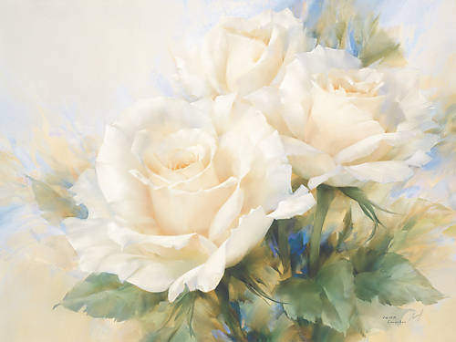 Bouquet of White Roses von Igor Levashov